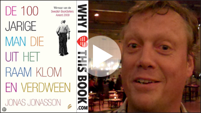 Jonas Jonasson on his book The Centenarian Who Climbed Out Through The Window and Vanished
