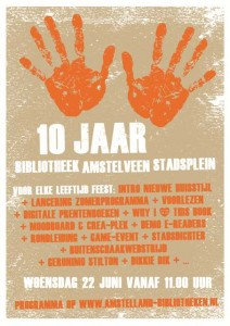 Bibliotheek Amstelland 10 jaar