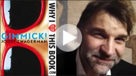 Boekenbal video – Bert Natter over Gimmick! – Joost Zwagerman