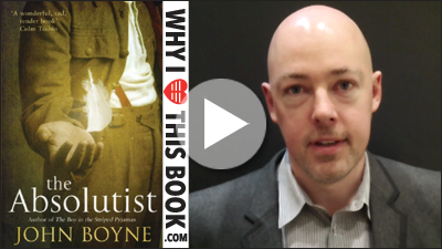 John Boyne on his book The Absolutist