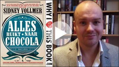 Sidney Vollmer over zijn boek Alles Ruikt Naar Chocola