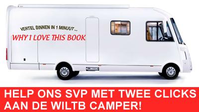 De Whyilovethisbook Camper