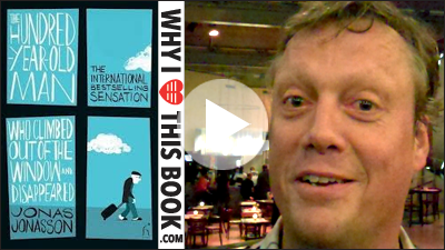 Jonas Jonasson on his book The Centenarian Who Climbed Out The Window And Disappeared