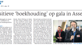 Het Boekengala 2014 in Assen