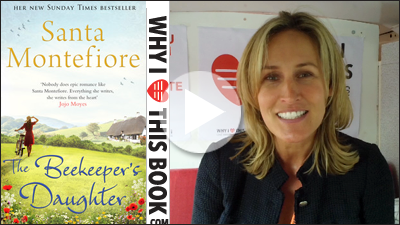 Santa Montefiore on het book The Beekeeper's Daughter