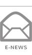 Wekelijkse email nieuwsbrief
