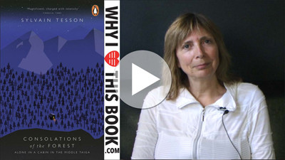 Pauline Slot over The consolations of the forest - Sylvain Tesson