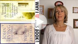 Carla de Jong over Alle mensen zijn sterfelijk – Simone de Beauvoir & Weduwe voor een jaar – John Irving