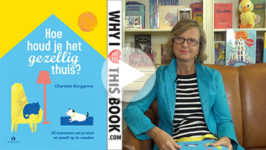 Charlotte Borggreve over haar boek Hoe houd je het gezellig thuis?