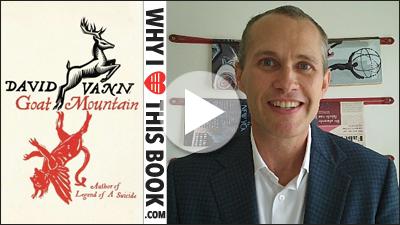 David Vann over zijn boek Goat mountain