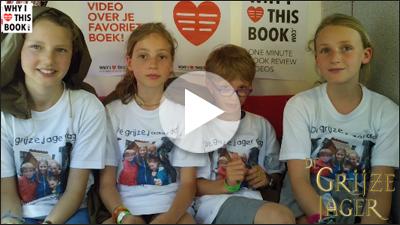 Lile, Hannah, Loiz & Aloyse over De grijze jager (deel 12) - John Flanagan